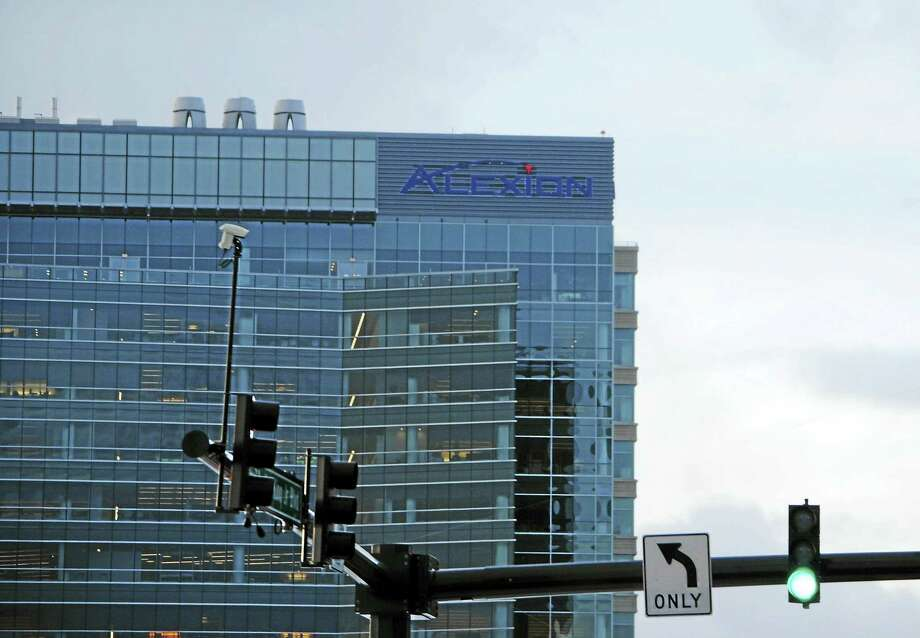 The Alexion building in New Haven. Photo: File Photo
