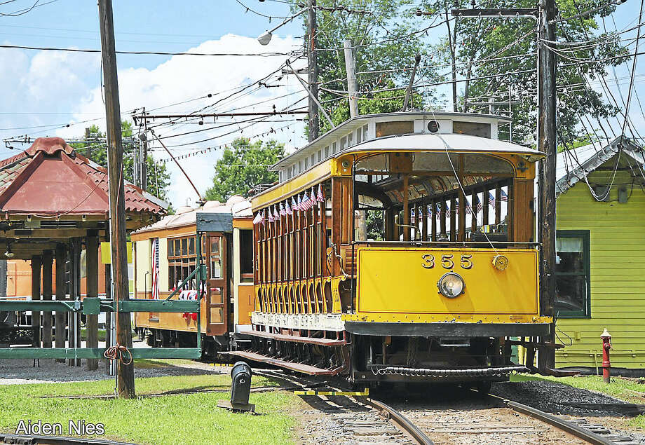 The New England Trolley Museum opens for the season on April 1. Photo: Contributed  Photo