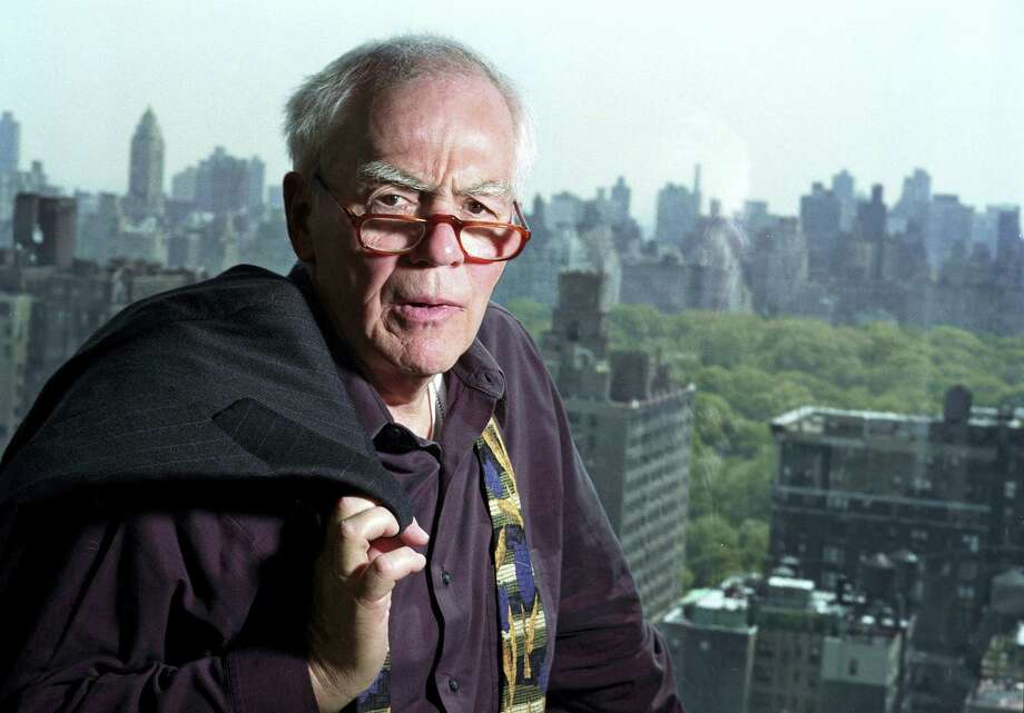 In this Nov. 2, 2004 photo, author-columnist Jimmy Breslin poses for a photo in his New York apartment. Breslin, the Pulitzer Prize-winning chronicler of wise guys and underdogs who became the brash embodiment of the old-time, street smart New Yorker, died Sunday, March 19, 2017. His stepdaughter said Breslin died at his Manhattan home of complications from pneumonia. Photo: AP Photo — Jim Cooper, File  / 2002 AP