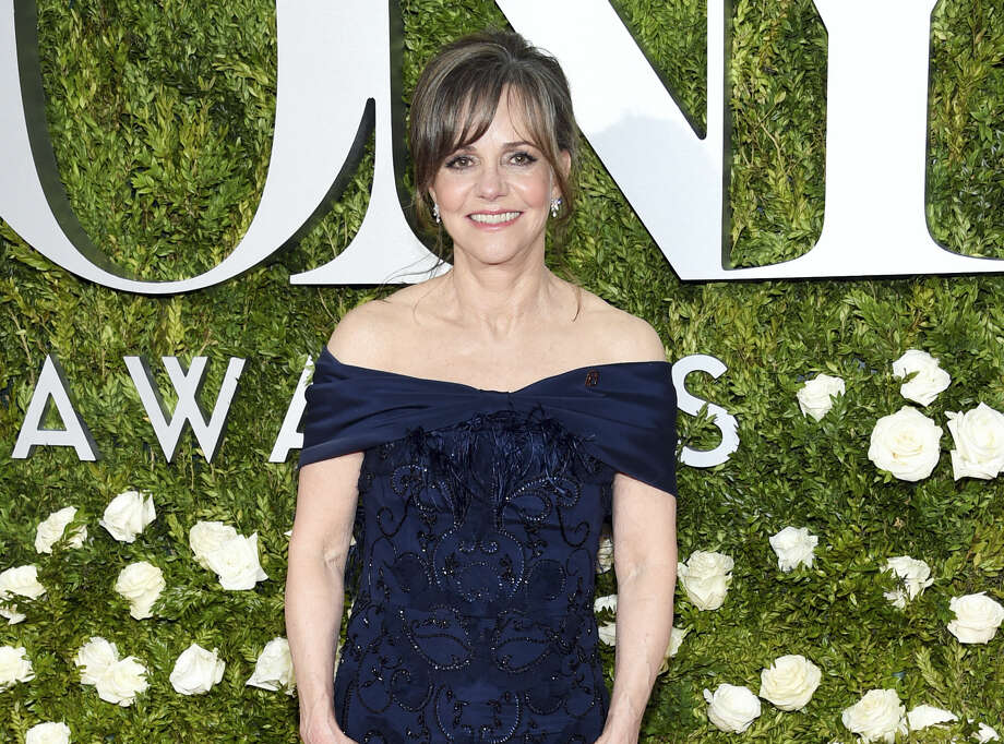 FILE — Sally Field arrives at the 71st annual Tony Awards at Radio City Music Hall in New York. The actress (and proud mom) announced her son's crush over Twitter Friday, much to her son's chagrin. Photo: Photo By Evan Agostini — Invision — AP  / 2017 Invision