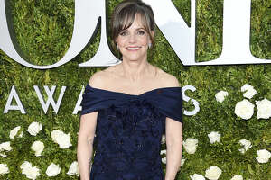 Sally Field arrives at the 71st annual Tony Awards at Radio City Music Hall on Sunday in New York.