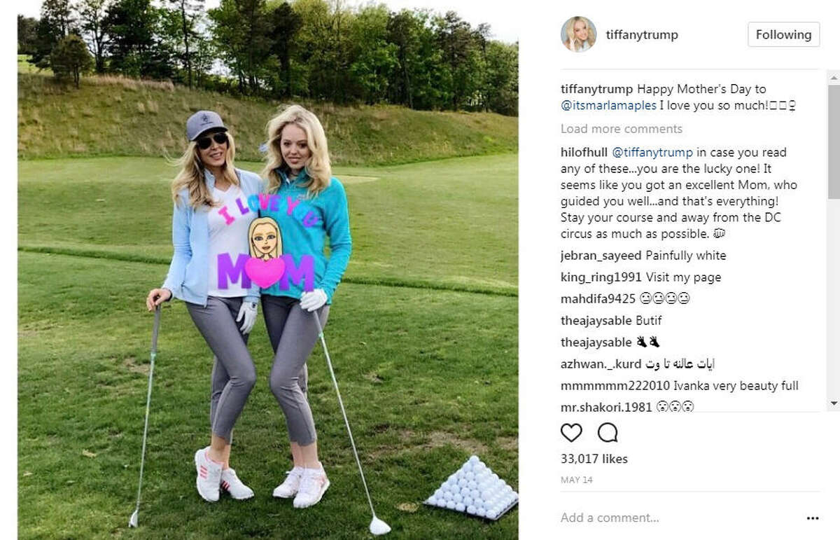 See how celebrities spent their summer. Photo:Tiffany Trump Instagram