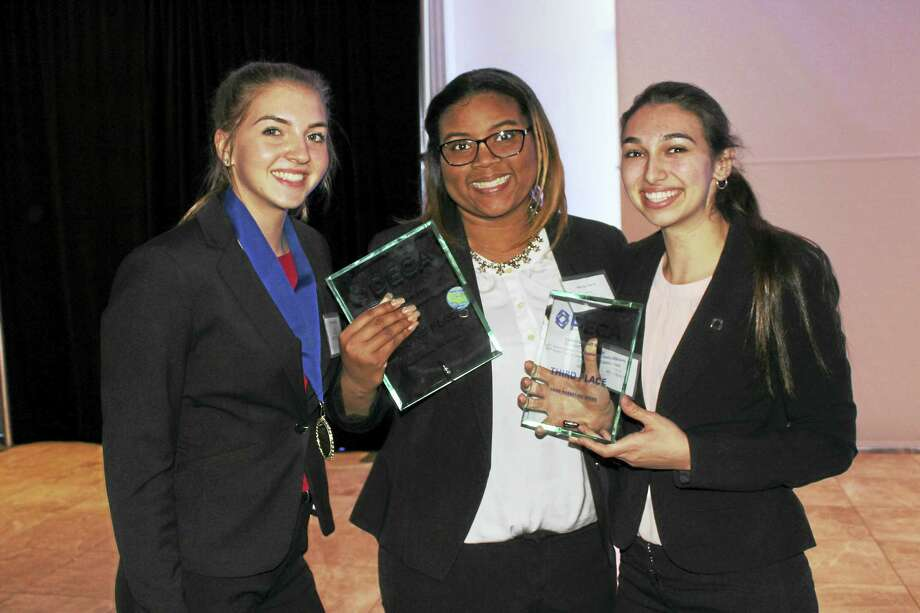 At this year's conference, 73 Middletown High students competed against over 1,000 students from high schools around the state in the areas of marketing, management, hospitality and finance. Photo: Contributed Photo