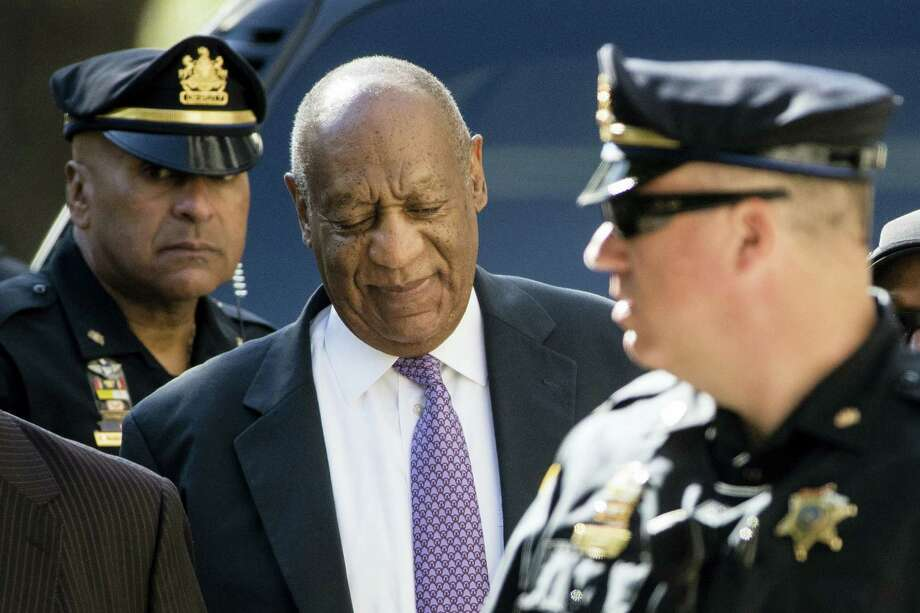 Bill Cosby arrives for his sexual assault trial at the Montgomery County Courthouse in Norristown, Pa., Friday, June 9, 2017. Photo: AP Photo/Matt Rourke   / Copyright 2017 The Associated Press. All rights reserved.