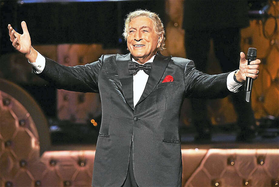 Contributed photoNinety year old singer Tony Bennett is set to appear at The Bushnell in Hartford on May 10. With worldwide record sales in the millions, and dozens of platinum and gold albums to his credit, Tony Bennett, is a musician who touches the hearts of audiences of several generations with his legendary vocals and charming stage presence. To purchase tickets or for more information on this upcoming concert, call The Bushnell box office at 860-987-5600 or visit www.bushnell.org Photo: Digital First Media / 2015 CBS Photo Archive