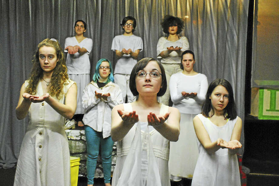 Epoch Arts' girls group, Breaking Silences,will present an original one-act play, Divided Together, March 24-25 at the arts center in East Hampton. Photo: Contributed Photo