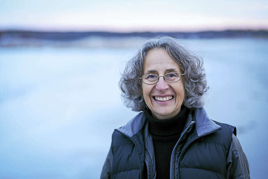 Deborah Cramer is a visiting scholar in the Environmental Solutions Initiative at MIT. She will be speaking about the relationship between horseshoe crabs and shore birds at Yale University on March 21. Photo: Contributed Photo  — Shawn Henry / © 2014 Shawn G. Henry • 978.590.4869??