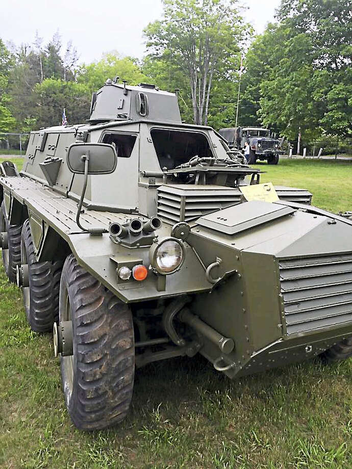 The 40th annual Connecticut Military Vehicle Collectors show and flea market will take place this weekend at the Chester Fairgrounds on Kirtland Terrace. Photo: Courtesy Connecticut Military Vehicle Collectors