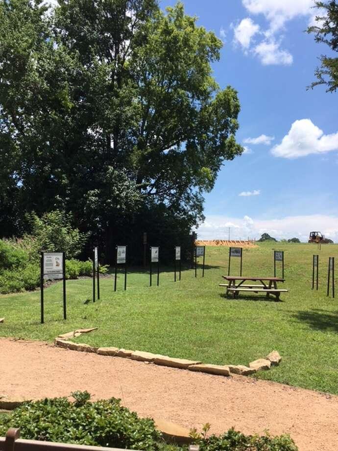 The StoryWalk Garden in Memory Park.