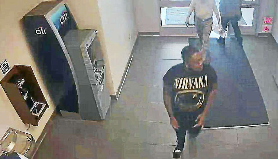 Police say this man walked into the Interstate 95 Subway restaurant at the rest stop in Madison Friday and used a stolen credit card he obtained after breaking into a Haddam home. Photo: Courtesy State Police