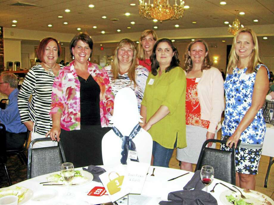Women's Initiative member Dawn Parker and friends attend the 2016 Power of the Purse. Photo: Courtesy Middlesex United Way