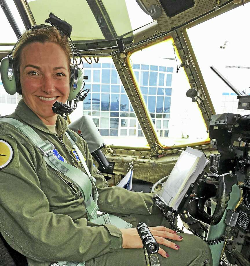 Let. Col. Kristen Snow will speak as a guest on March 11 at the New England Air Museum, during the Women Take Flight Day celebration and programs. Photo: Contributed Photo