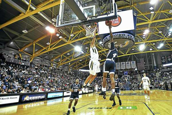 Wednesday night's matchup between Hillhouse and Notre Dame-West Haven was a sellout at Quinnipiac's TD Bank Sports Center.