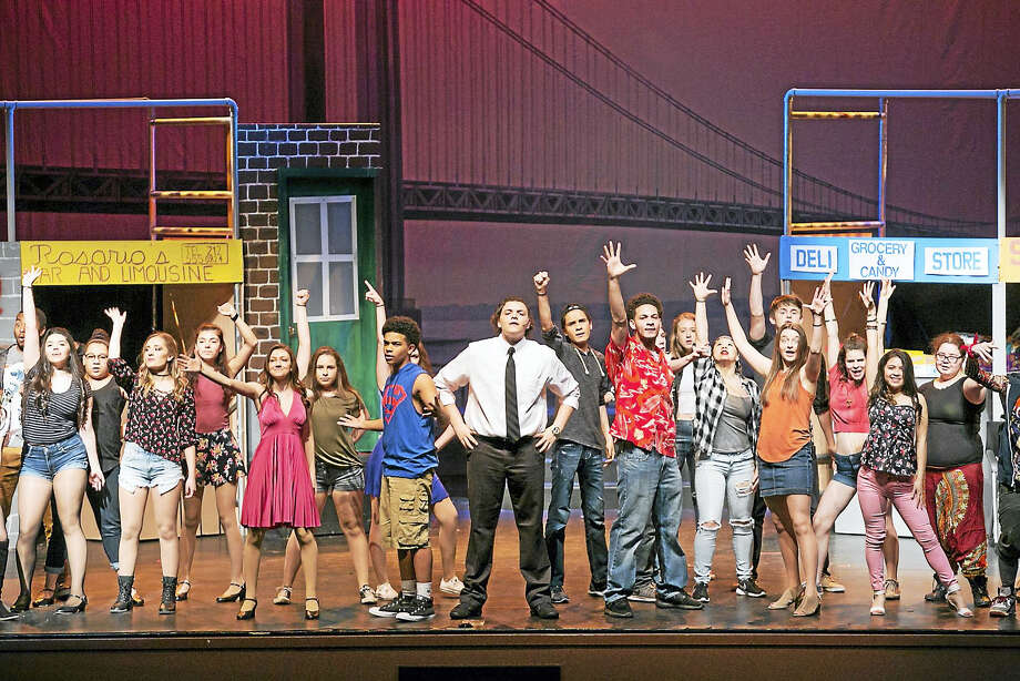 "The high school drama club will present the 2008 Tony Award-winning musical, ""In the Heights"" this weekend at the Middletown High School Performing Arts Center. Performances run tonight and Saturday at 7:30, with a 2 p.m. matinee Saturday. Admission is $15; $10 for seniors and students and tickets will be sold at the door. Photo: Sandy Aldieri Photo"