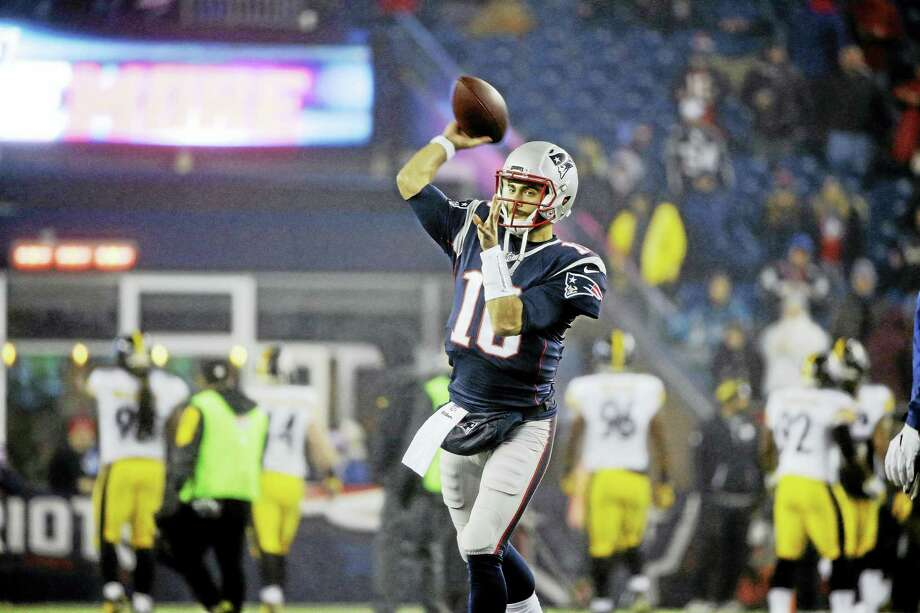 New England Patriots quarterback Jimmy Garoppolo. Photo: The Associated Press File Photo  / Copyright 2017 The Associated Press. All rights reserved.