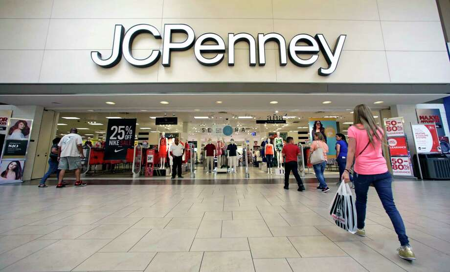 FILE - In this Wednesday, June 7, 2017, file photo, shoppers walk into a J.C. Penney department store in Hialeah, Fla. On Friday, Aug. 11, 2017,  J.C. Penney Company, Inc. Holding Company reports earnings. (AP Photo/Alan Diaz, File) Photo: Alan Diaz, STF / Copyright 2017 The Associated Press. All rights reserved.