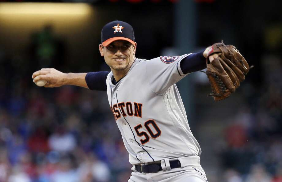 Astros' pitcher Charlie Morton will start Tuesday's series opener against the Washington Nationals at Minute Maid Park. Photo: Tony Gutierrez/Associated Press