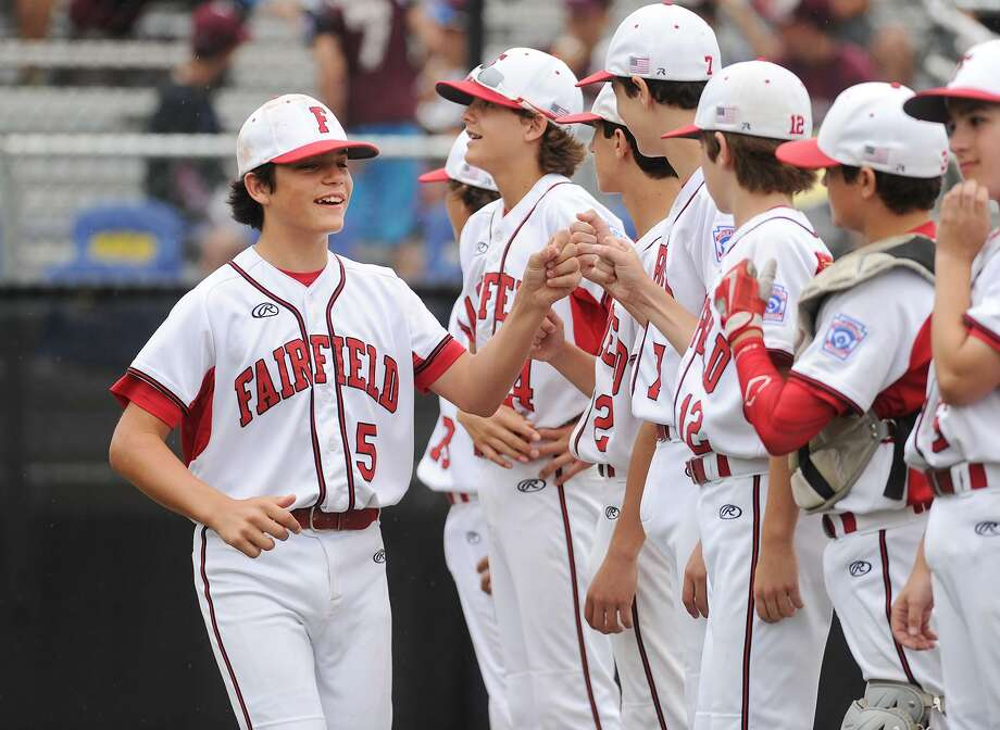 Fairfield American's 8-0 victory over South Portland, Maine in the 2017 Little League Baseball Eastern Regional Tournament in Bristol on Monday, August 7, 2017. Photo: Brian A. Pounds / Hearst Connecticut Media / Connecticut Post