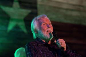 Singer Kenny Rogers performs at the Redneck Country Club Friday, Aug. 11, 2017, in Stafford. Rogers plans to give his last concert in October in Nashville, which made his Friday show his final performance in his hometown of Houston.