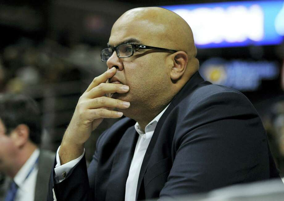 Former UConn Athletic Director Warde Manuel. Photo: The Associated Press File Photo  / FR125654 AP