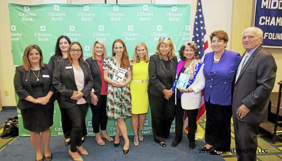 "The Middlesex County Women In Business 2016 Leadership Conference July 28 included speakers: ""CBS Sunday Morning"" contributor Faith Salie, WFSB Anchor Kara Sundlun, author Gina Barreca and leadership coach Grace Killelea. Photo: Contributed Photo  / (c)DE KINE PHOTO LLC"