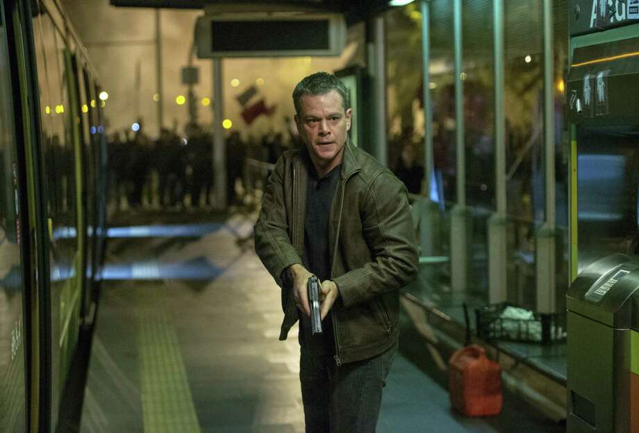 "In this image released by Universal Pictures, Matt Damon appears in a scene from ""Jason Bourne."" The movie opens July 29, 2016 in U.S. theaters. Photo: Jasin Boland/Universal Pictures Via AP  / Universal Pictures"