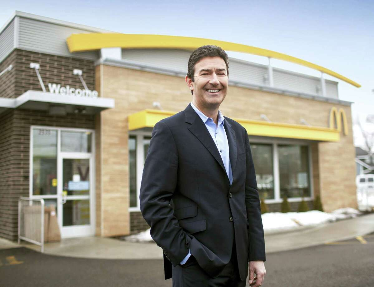 In this 2014 photo provided by McDonald's, company President and CEO Steve Easterbrook poses for a photo, near Chicago. McDonald's Corp. said on March 31, 2016 it plans to open 1,500 new restaurants in China, South Korea and Hong Kong as it looks to faster-growing markets to help drive a global turnaround.