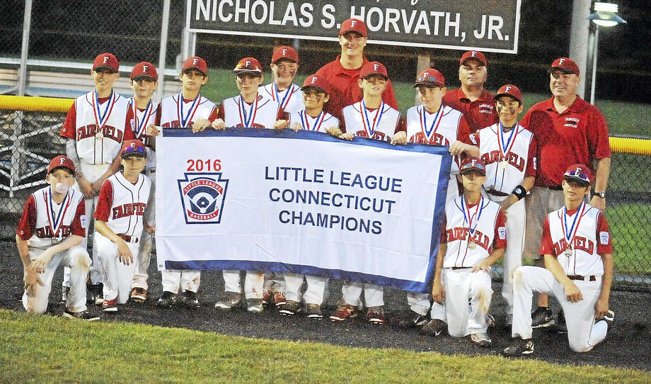 Fairfield American captured the Little League state title with a 6-3 win over Coginchaug on Saturday. Photo: Jimmy Zanor - The Middletown Press