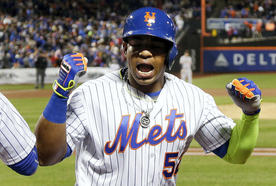 New York Mets slugger Yoenis Cespedes. Photo: Julie Jacobson — The Associated Press File  / Copyright 2016 The Associated Press. All rights reserved. This material may not be published, broadcast, rewritten or redistribu