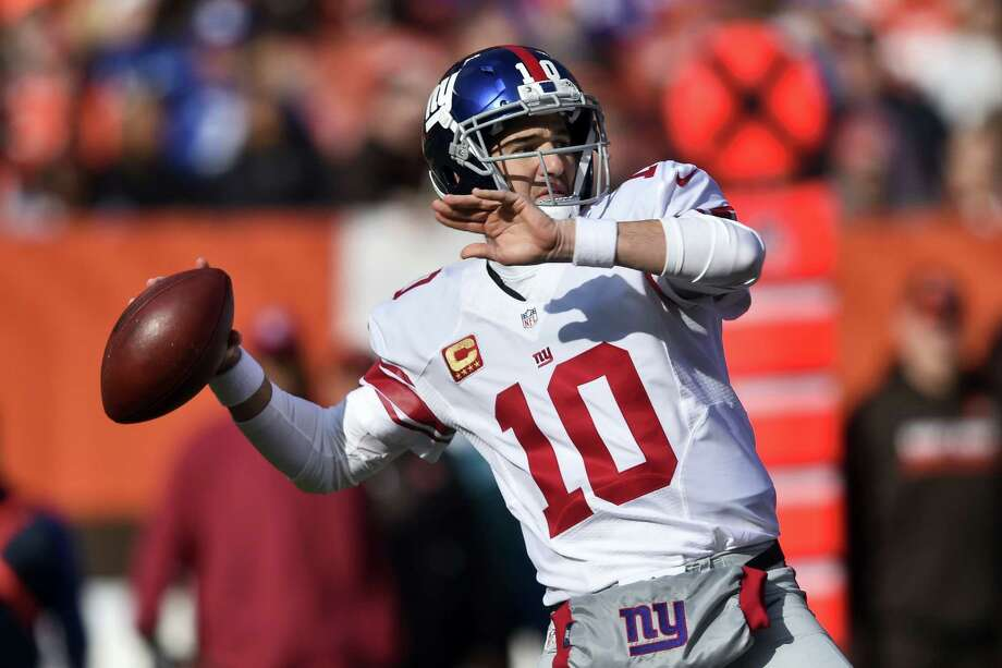 New York Giants quarterback Eli Manning. Photo: The Associated Press  / AP