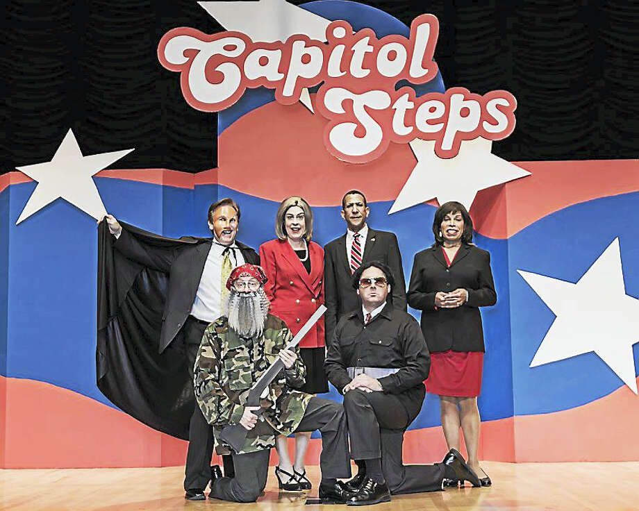 Contributed photoThe political comedy show, Capital Steps, is playing at the Palace Theater in Waterbury. Photo: Journal Register Co.