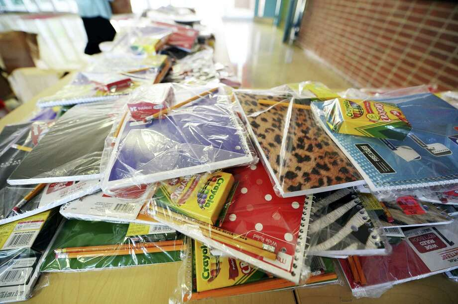 Notebooks, crayons, backpacks and pencils are among the school supplies most in need by families who struggle to pay for them when classes resume in the fall. Photo: File Photo  / York Daily Record/Sunday News