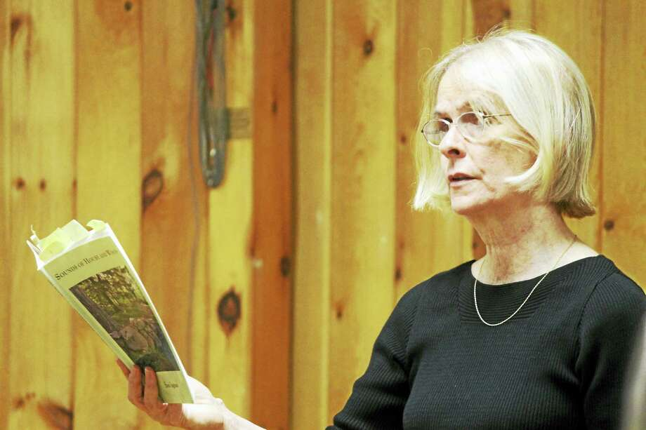 Sara Ingram may be a poet but she is really a storyteller. Her mother and grandmother served as Deep River's librarian for a combined total of 60 years. Photo: Photo By Valerie Bannister