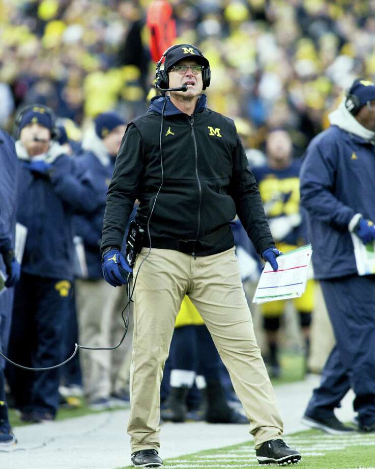 Michigan head coach Jim Harbaugh. Photo: Tony Ding — The Associated Press  / © ASSOCIATED PRESS