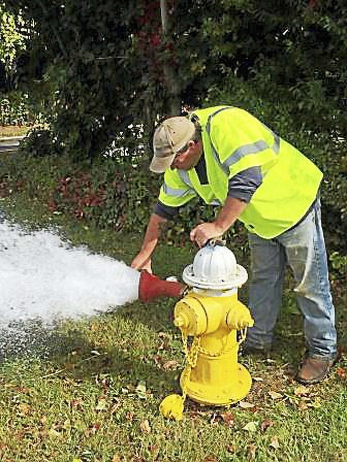 Routine water main flushing in Clinton will be conducted over the next 10 days. Photo: Courtesy Photo