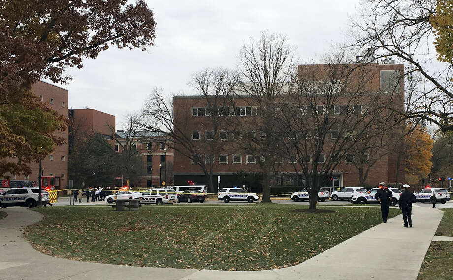 AP Photo — Andrew Welsh-Huggins Photo: Police Respond To Reports Of An Active Shooter On Campus At Ohio State University On Monday In Colum / AP