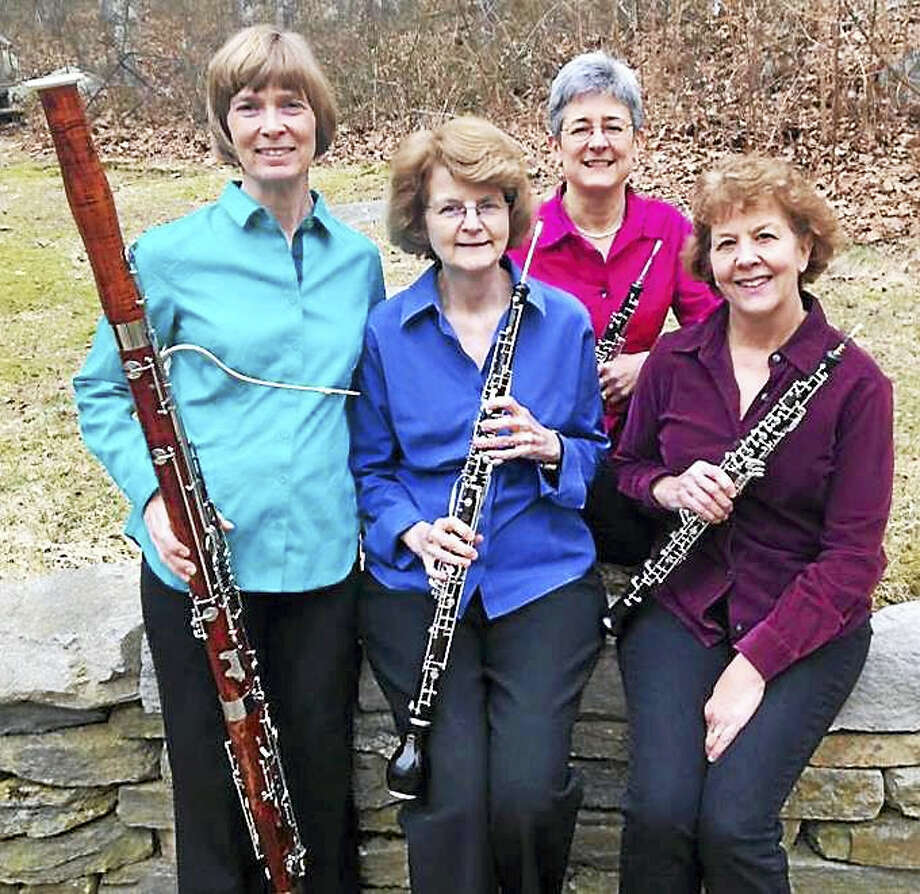 Contributed photoThe Laurel Double Reed Ensemble plays the Community Music School in Centerbrook Feb. 6. Photo: Journal Register Co.