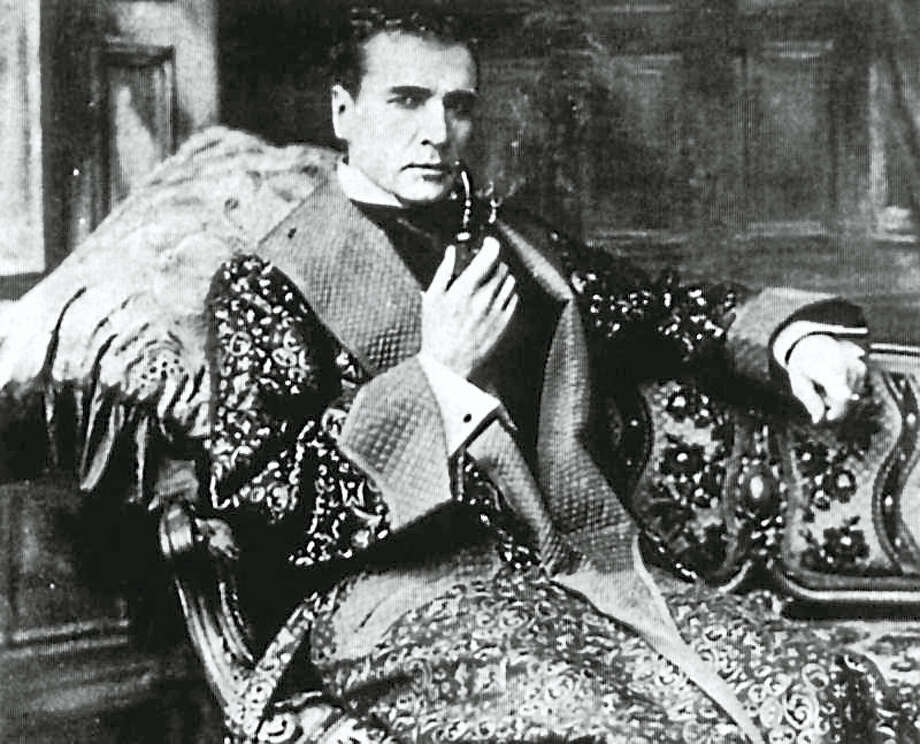 Contributed photoThe Mark Twain House presents a reading of Elementary, My Dear Fellow, a new one-act play by Shera Cohen about actor William Gillette. The reading will take place in the Lincoln Financial Services Auditorium on Thursday, February 11 at 7:00 p.m. Photo: Journal Register Co.