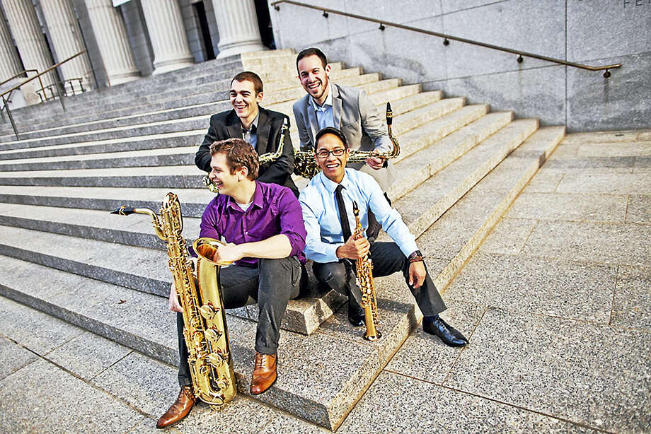 The Asylum Quartet will perform in Clinton this weekend. Photo: Contributed Photo