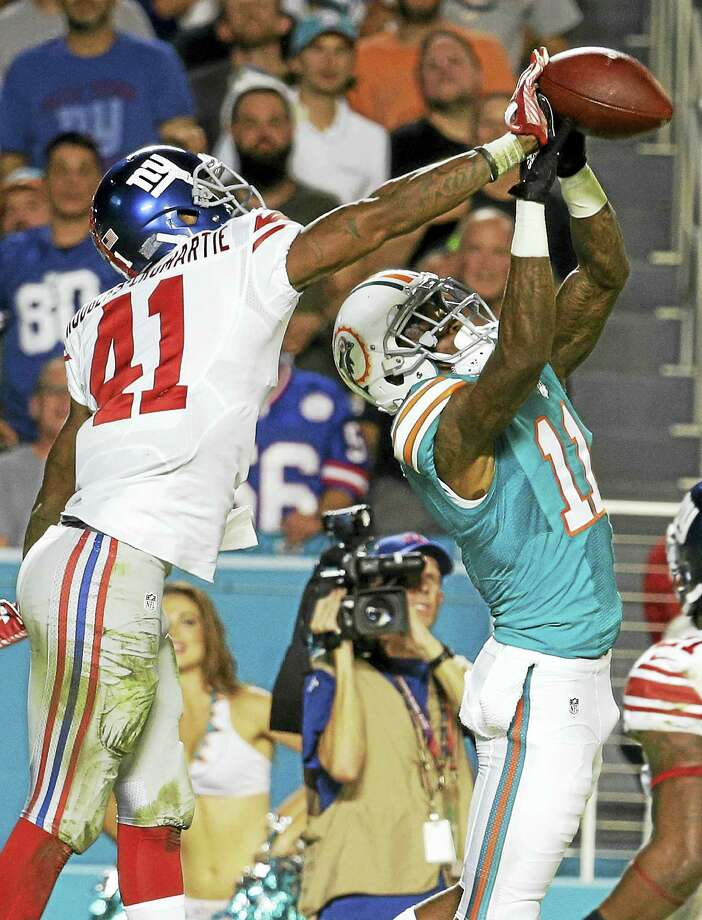 Giants cornerback Dominique Rodgers-Cromartie (41) will be playing the Pro Bowl on Sunday. Photo: The Associated Press File Photo  / AP