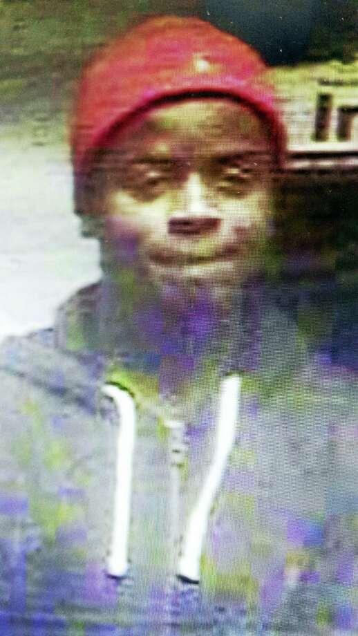 Surveillance photo of suspect in car thefts, burglaries Photo: Courtesy Clinton Police
