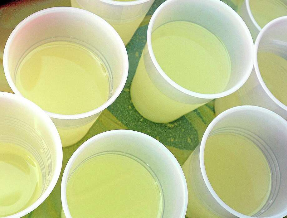 Cups of lemonade will be sold in two locations in Cromwell Friday during an Alex Lemonade Stand drive for charity hosted by the recreation department. Photo: File Photo