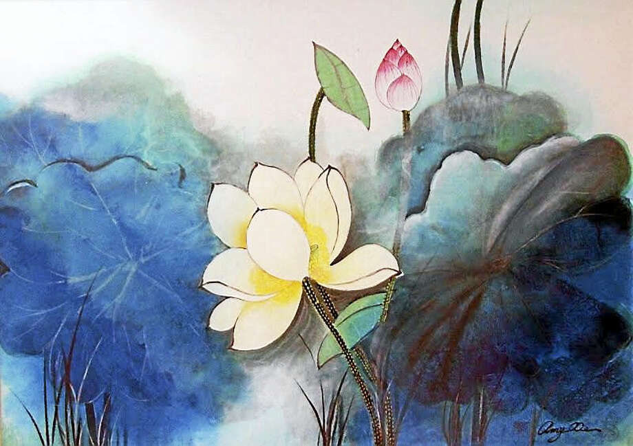 Contributed photoWhite Lotus by Amy Fang Xie. Photo: Journal Register Co.