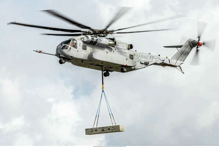CONTRIBUTED PHOTO — SIKORSKY AIRCRAFT The CH-53K King Stallion helicopter. Photo: Journal Register Co. / Copyright - United Technologies Corporation 2011. All rights reserved.
