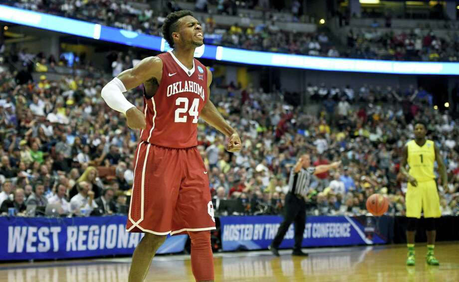 Oklahoma guard Buddy Hield scored 37 points in Saturday's win over Oregon. Photo: Mark J. Terrill — The Associated Press  / AP