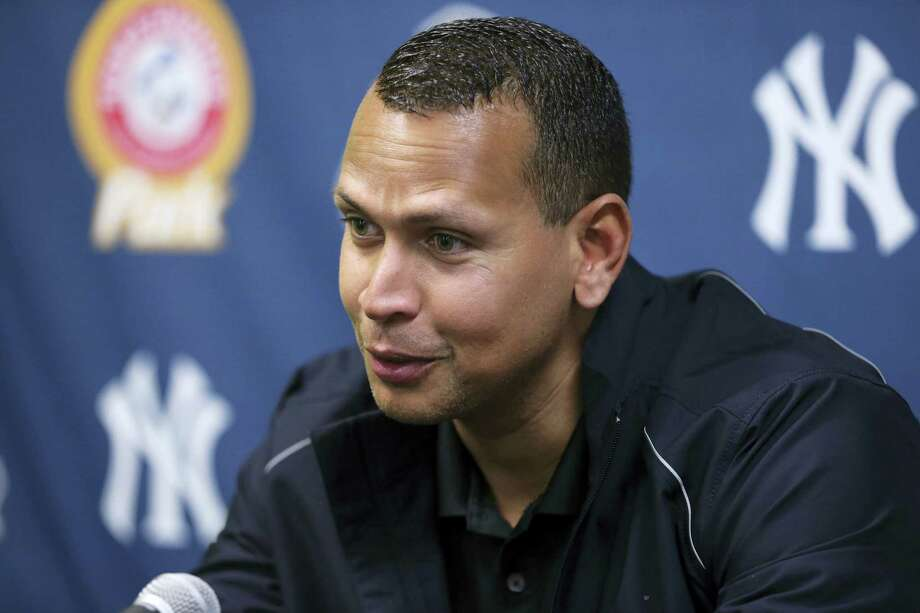 New York Yankees third baseman Alex Rodriguez answers a question after a minor league rehab start for the Trenton Thunder against the New Hampshire Fisher Cats  on Wednesday, May 25, 2016, in Trenton, N.J. Rodriguez has been activated and will play in today's game. Photo: The Associated Press  / Copyright 2016 The Associated Press. All rights reserved. This material may not be published, broadcast, rewritten or redistribu
