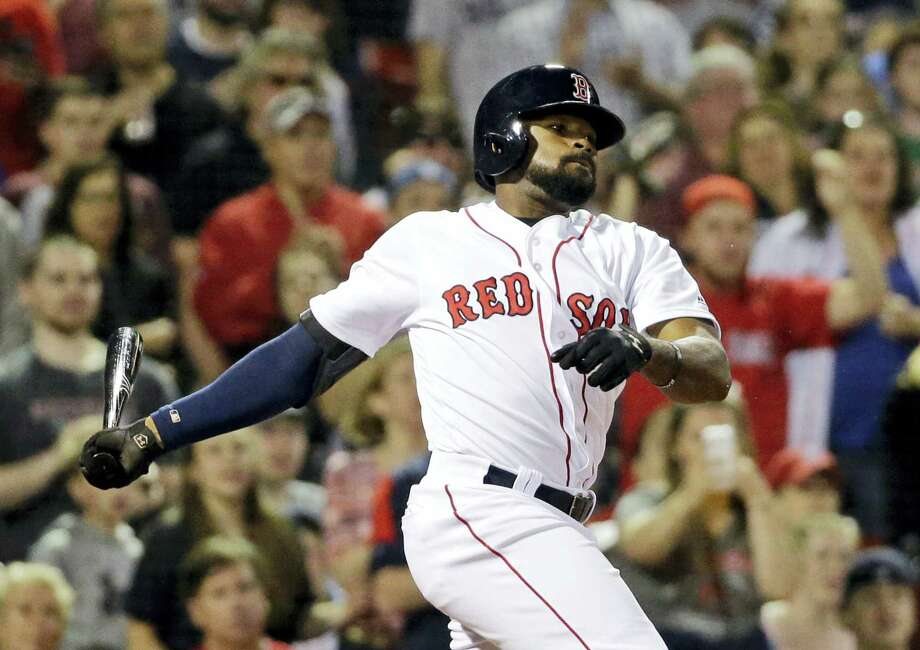 Jackie Bradley Jr. saw his 29-game hit streak end after going 0-for-4 in Thursday's game against the Rockies. Photo: Elise Amendola — The Associated Press  / Copyright 2016 The Associated Press. All rights reserved. This material may not be published, broadcast, rewritten or redistribu
