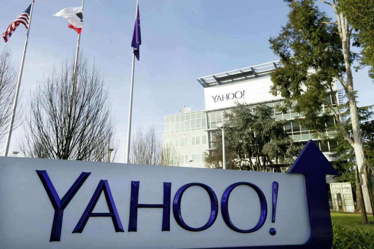 FILE - This Jan. 14, 2015 file photo shows Yahoo's headquarters in Sunnyvale, Calif. As investors and investigators weigh the damage of Yahoo's massive breach to the internet icon, information security experts worry that the record-breaking haul of password data could be used to open locks up and down the web. While it's unknown to what extent the stolen data has been or will be circulating, giant breaches can send ripples of insecurity across the internet. (AP Photo/Marcio Jose Sanchez, File)