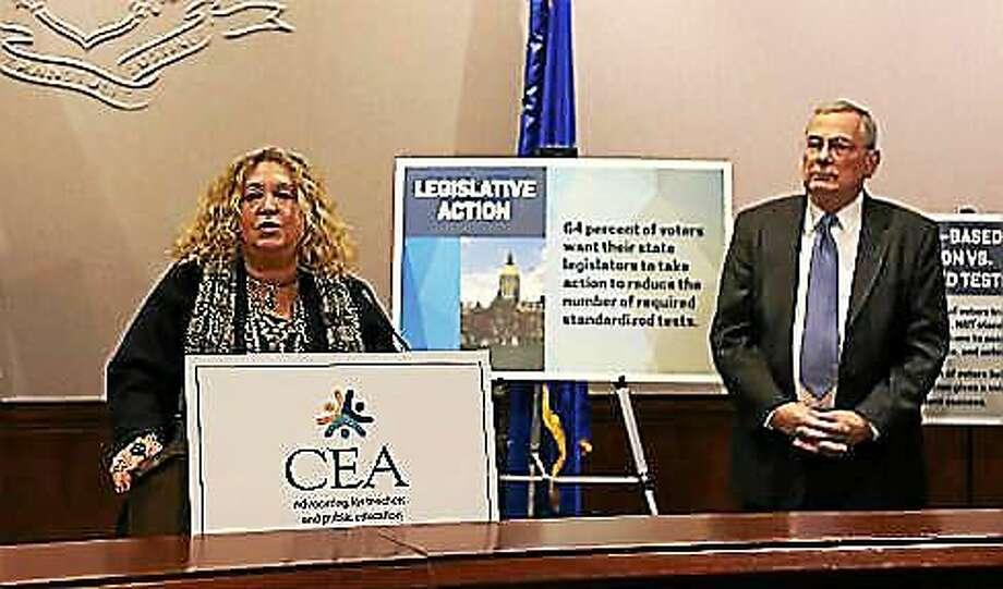 CEA President Sheila Cohen and Executive Director Mark Waxenberg. Photo: CTNewsJunkie File Photo