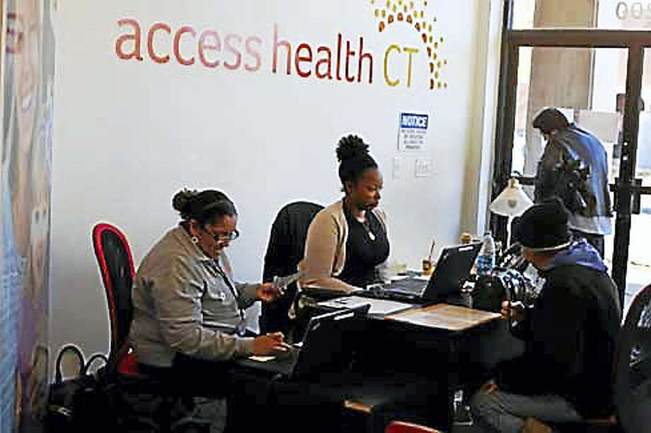 Access Health CT enrollment center in New Britain Photo: CTNewsJunkie File Photo